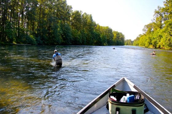 Oregon Fly Fishing Guides | Fly Fishing  Willamette River | Holloway Bros