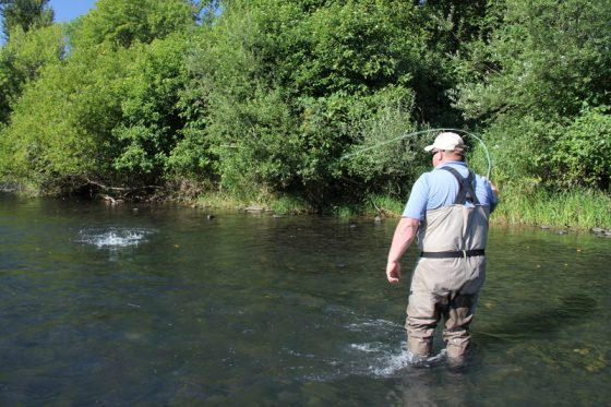Holloway Bros Fly Fishing Guides Make Fishing Fun for Clients | Holloway Bros