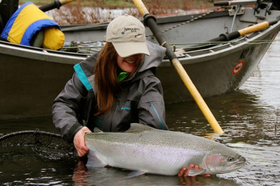 Another successful Winter Steelhead Fly Fishing Trip in Oregon | Holloway Bros