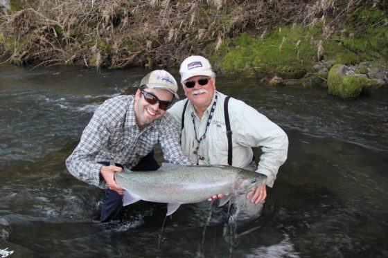 Successful Day in Oregon Waters for Fly Fishing | Holloway Bros